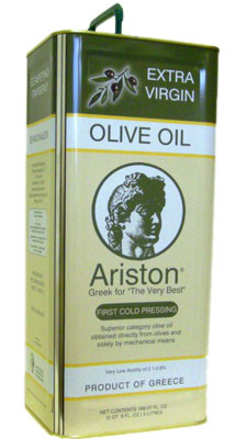 Ariston Select Extra Virgin olive Oil by 3L Container