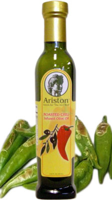 Ariston Roasted Chili Infused Olive Oil