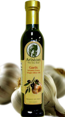 Ariston Extra Virgin Olive Oil INFUSED with Garlic 250ML