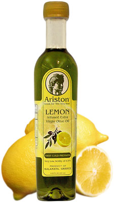 Ariston Extra Virgin Olive Oil INFUSED with Lemon 250ML