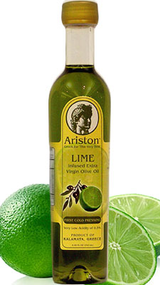 Ariston Extra Virgin Olive Oil INFUSED with Lime 250ML