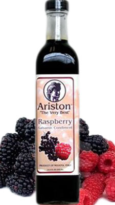 Ariston Italian Artisan Balsamic infused with Rasberry 500ML