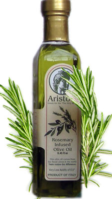 Ariston Extra Virgin Olive Oil INFUSED with Rosemary 250ML